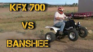 5. 1 BANSHEE vs 1 KAWASAKI KFX 700