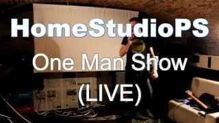 Video HomeStudioPS (LIVE) One Man Show - REPORT (26.9.2015, BA)