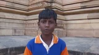 Gwalior India  city photo : Incredible Talent of Rural Indian Boy in Gwalior Port