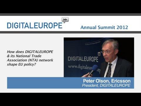 Watch 'DIGITALEUROPE Annual Summit 2012 - Interview Peter Olson '