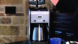 Extreme Brew™ 10-Cup Thermal Programmable Coffeemaker Demo Video Icon