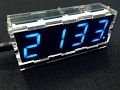Unboxing and Assembling 4 Digit LED Electronic Clock Kit With Temperature