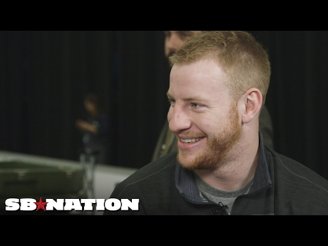 Video: Carson Wentz on lessons from rookie season   Super Bowl 2017
