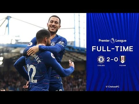 Chelsea vs Fulham 2-0 Highlights and extended All Goals 2/12/2018