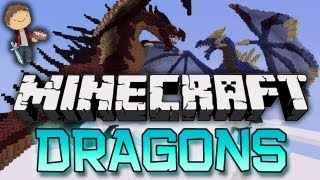 Minecraft: DRAGONS Mini-Game! w/Mitch&Friends!