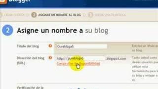 Bloggerren blog bat sortzeko tutoriala