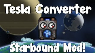 Hello everyone and in this video I show you guys quite a cool mod by DoctorToad. It's the Tesla Converter an item that will allow ...