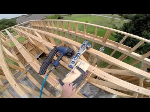 DIY Garage #9 - Framing Part 3 - Floor Trusses