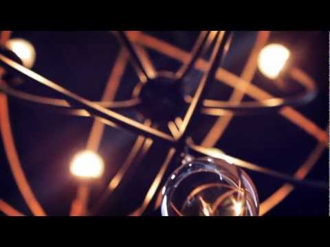 Video for Solaris English Bronze Three-Light Chandelier