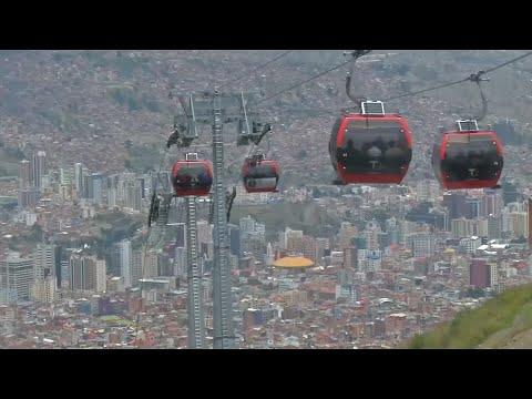 Von La Paz nach El Alto: Die längste Seilbahn der Wel ...
