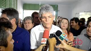 Ricardo Coutinho assina convênio em Sousa, e fala da João Azevedo sucessor