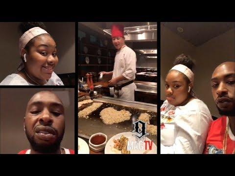 Ceaser Takes His Daughter On A Dinner Date!