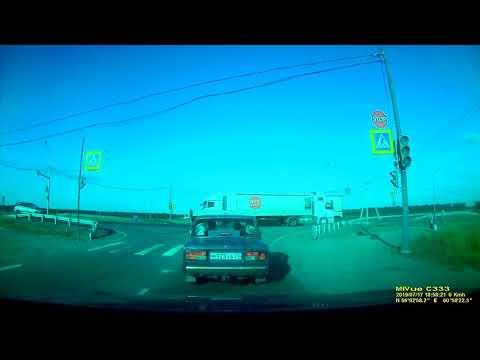 Я свидетель  ДТП, Челябинск 17.07.2019 (Запись видеорегистратора)