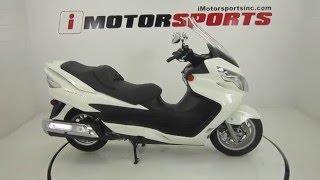 8. 2011 SUZUKI BURGMAN 400 ABS @ iMotorsports A1879