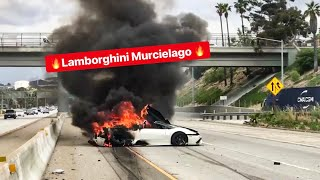 MY FRIENDS LAMBORGHINI CRASHES AND BURNS! *EMOTIONAL*