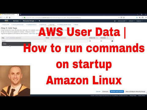 run command for startup