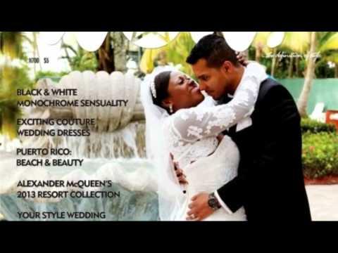 Uche Jombo's wedding photos