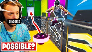 This 2019 RAINBOW Deathrun has an *IMPOSSIBLE* Level? (Fortnite Creative)