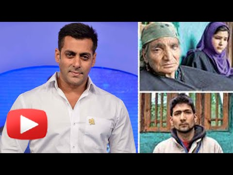 Salman Khan Has A New Family In Kashmir