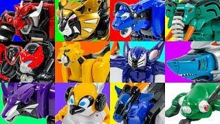 Video PowerRangers Jungle Fury Pride Master MegaZord With All Animal Spirit With Toy Transformation MP3, 3GP, MP4, WEBM, AVI, FLV Oktober 2018