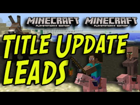 Minecraft (PS3, PS4, Xbox) – LEADS – Title Update – Awesome Tips and Tricks