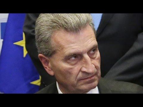 Βρυξέλλες: Ερωτήματα δεοντολογίας εγείρονται για τον Επίτροπο Έτινγκερ