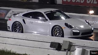 Champion Modded Porsche 991 Turbo S - 1/4 Mile Drag Test - Road Test TV by Road Test TV