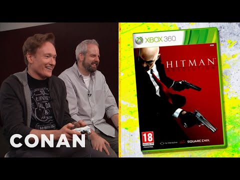 Conan recenzuje hru Hitman: Absolution