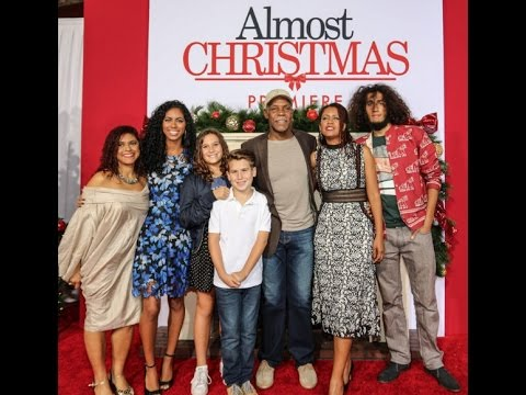 ALMOST CHRISTMAS cast Christmas Wish to first family for last Christmas in Office