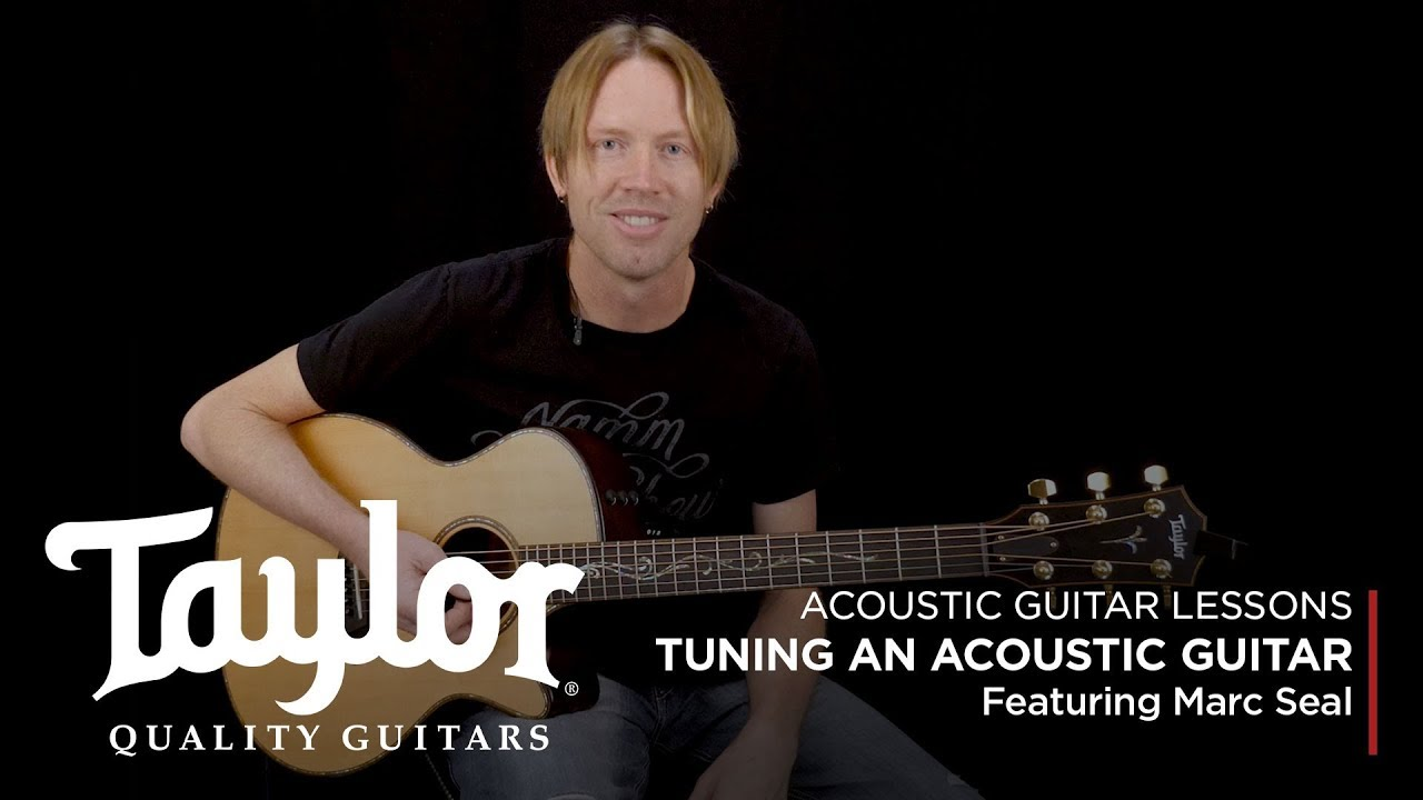 How to Tune an Acoustic Guitar | Taylor Guitars