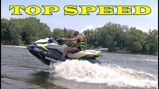 6. Sea Doo GTI 155 - Top Speed Test Runs