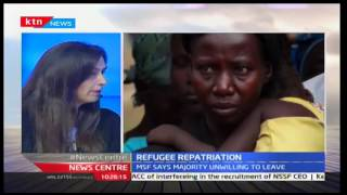 News Centre 14th October 2016 - Refugee Repatriation: Majority of refugees unwilling to return home