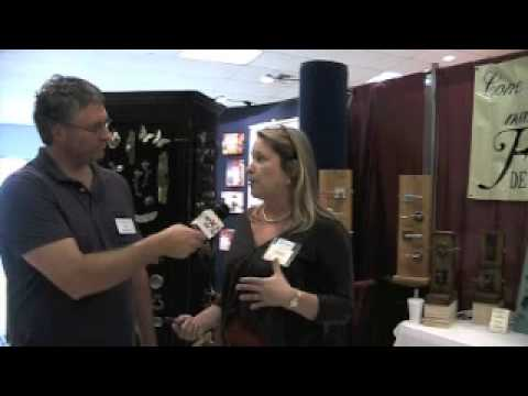 Pleasant Hardware - Tim Barkley of Charleston Home + Design magazine interviews Foxworth Decorative Hardware at the 2010 Mt. Pleasant Home + Garden Show.