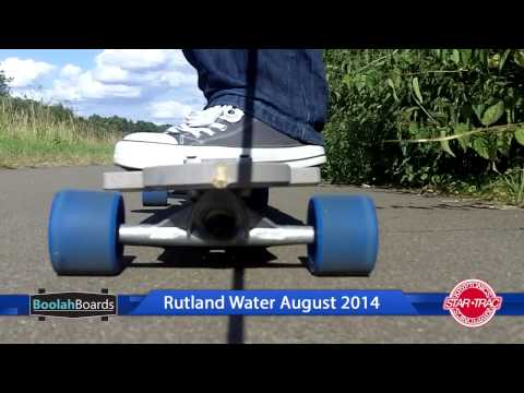 Boolah Board Cruise Around Rutland Water With Kryptonic Blue 70mm Wheels