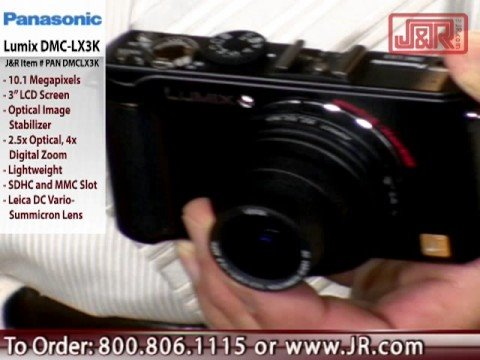 Panasonic Lumix DMC-LX3 Digital Camera - JR.com