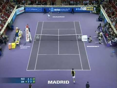 Nadal vs Simon, semifinal Madrid 2008