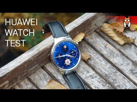 Die Huawei Watch im Test [deutsch]