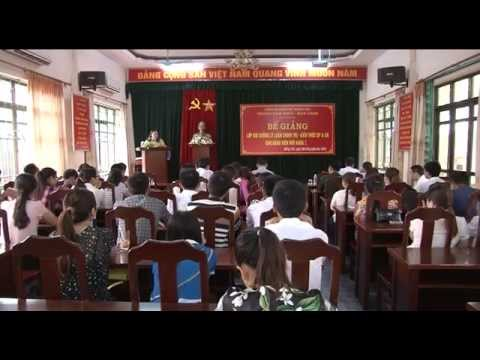 Bế giảng lớp bồi dưỡng lý luận chính trị và kiến thức quốc phòng an ninh