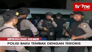 Video [BREAKING NEWS] Densus Baku Tembak Dengan Teroris di Manukan Kulon, Surabaya MP3, 3GP, MP4, WEBM, AVI, FLV Mei 2018