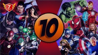 Video 10 Film Superhero Terpopuler DC dan Marvel MP3, 3GP, MP4, WEBM, AVI, FLV September 2018