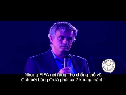 Mourinho speech chelsea player of the year awards (видео)