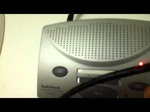 RadioShack FM Intercom System