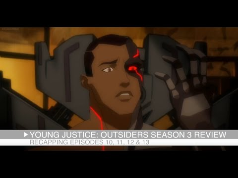 Beast Boy Details and Cyborg Origin (Young Justice: Outsiders Episodes 10, 11, 12 & 13 Review)