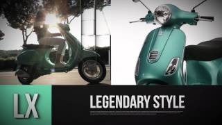 9. Vespa LX and S 3V - official video