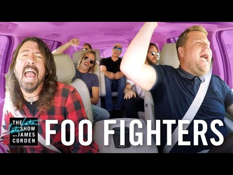 Carpool Karaoke with the Foo Fighters