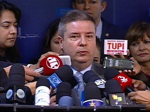 Senador Antonio Anastasia diz estar com sentimento de dever cumprido
