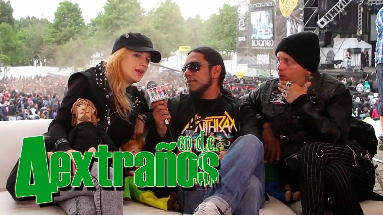 4 Extraños en D.C - IRA - Rock Al Parque 2014