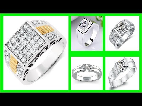 TOP 35 Latest Solitaire Diamond Ring for Mens tanishq | Mens Diamond Jewelry
