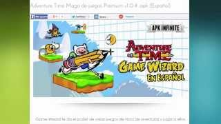 Descargar Adventure Time Mago De Juegos Premium V1.0.4 .apk (Español) (ULTIMA VERSION)