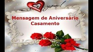 Msg de aniversário - Mensagem de Aniversário Casamento